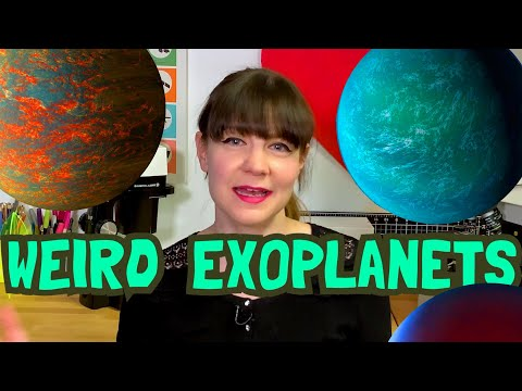 The Weirdest Places In The Galaxy: Exoplanets