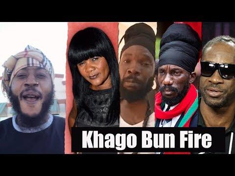 No Sah! KHAGO DISS Lady Saw, Bushman, Sizzla..Khago REVEAL Everything