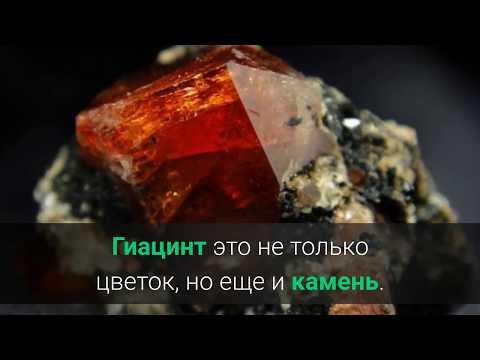 Гиацинт, Пироп, Рубеллит  Значение драгоценных камней