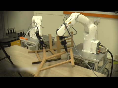Can these robots build an Ikea chair?
