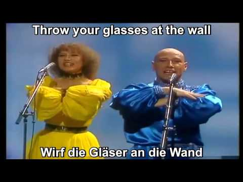Dschinghis Khan - Moskau (lyrics) (english - german)