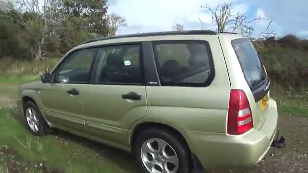 2004 54 subaru forester 2 0 xt turbo awd 1 owner fsh for sale 4 wheel drive youtube. Black Bedroom Furniture Sets. Home Design Ideas