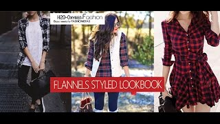 Flannel Shirts Styled - Fall/Winter LOOKBOOK