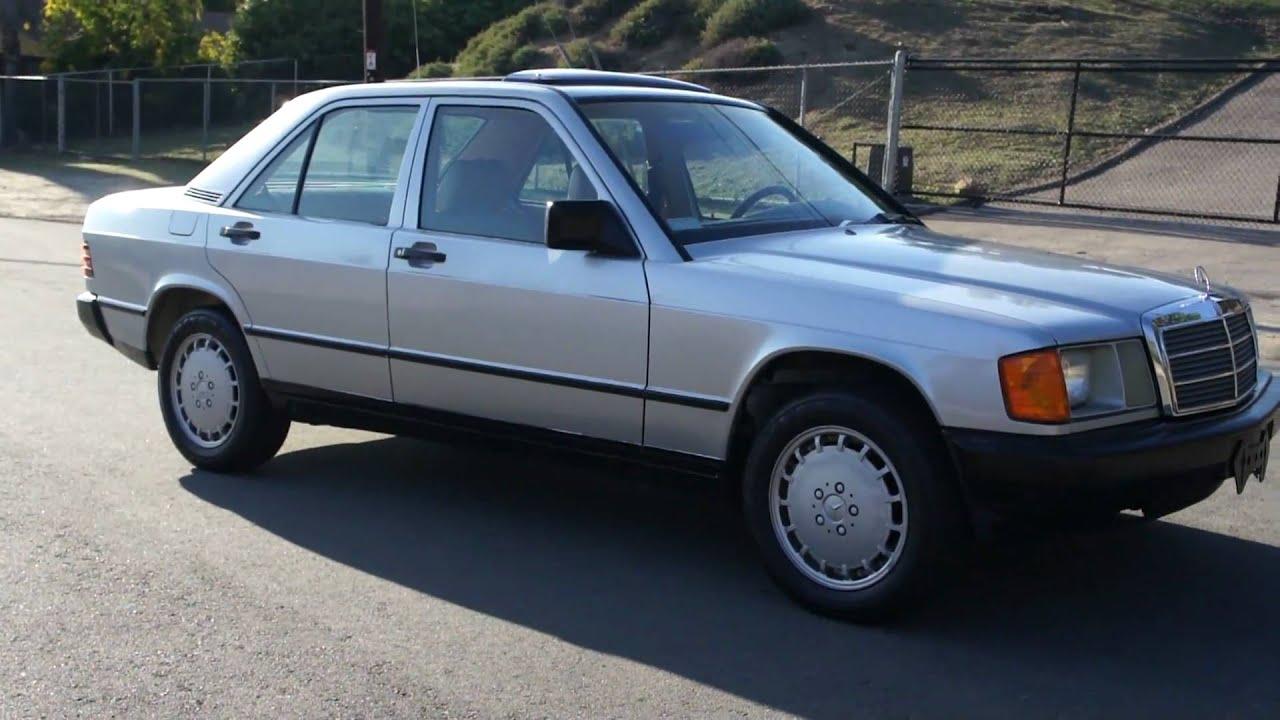1985 Mercedes Benz 190e W201 2 3 4 Cyl About 80k Miles