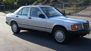 1985 Mercedes Benz 190E W201 2.3 4 cyl about 80k Miles W123