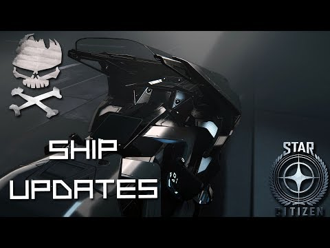 Star Citizen : Ship Updates Nox in detail and the Redeemer 06-30-2017