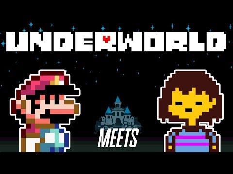 Mario Meets Undertale?! | Underworld (SMW ROM/Hack Demo)