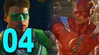 Injustice 2 - Part 4 - FLASH VS GREEN LANTERN!