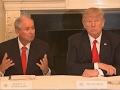 Trumps meets business leaders, CEOs