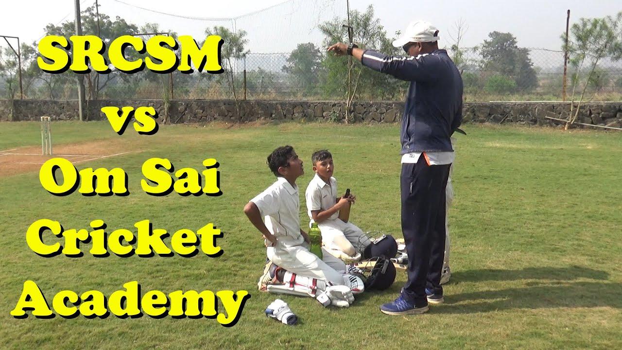 SRCSM vs Om Sai Cricket ACADEMY