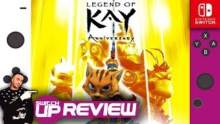 The Legend Of Kay: Anniversary Switch Review (A great port, but is that enough?)