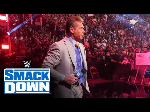 Mr. McMahon welcomes the WWE Universe home: SmackDown, July 16, 2021