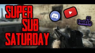 - Super Sub Saturday!