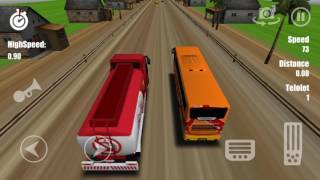 Telolet Bus Driving 3D ★ Telolet Bus game  from indonesia screenshot 1