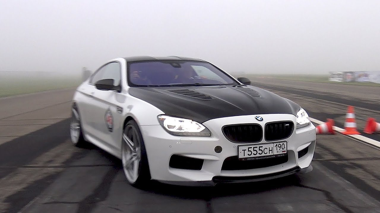 Bmw M6 F13 Rs800 Pp Performance Revs Drag Race Youtube