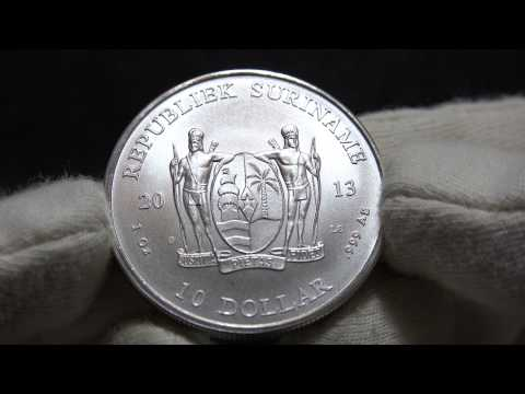 "2013 Suriname 1oz ""LS Mark"" - Watch in 4K"