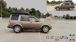 Land Rover Discovery 4 (III) Terrain Response - 4x4 test on rollers