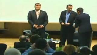 Lo que no se vio de la Conferencia del Presidente Rafael Correa en Berlin.