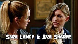 Sara Lance & Ava Sharpe