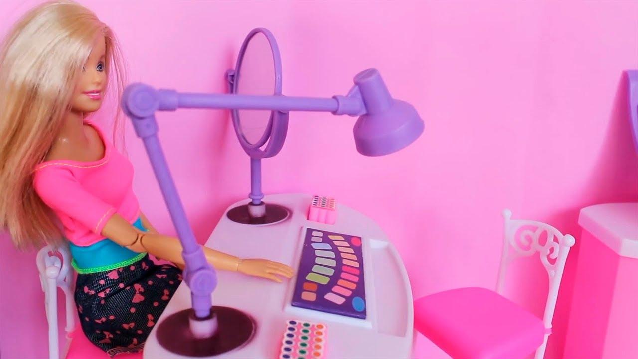 Bajka Masza I Barbie W Salonie Urody Nowa Fryzura