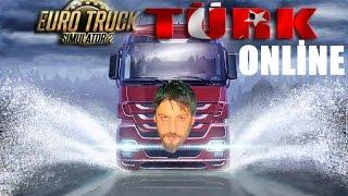 Euro Truck Simulator 2 Türkçe Multiplayer | Mehtaplı Geceler