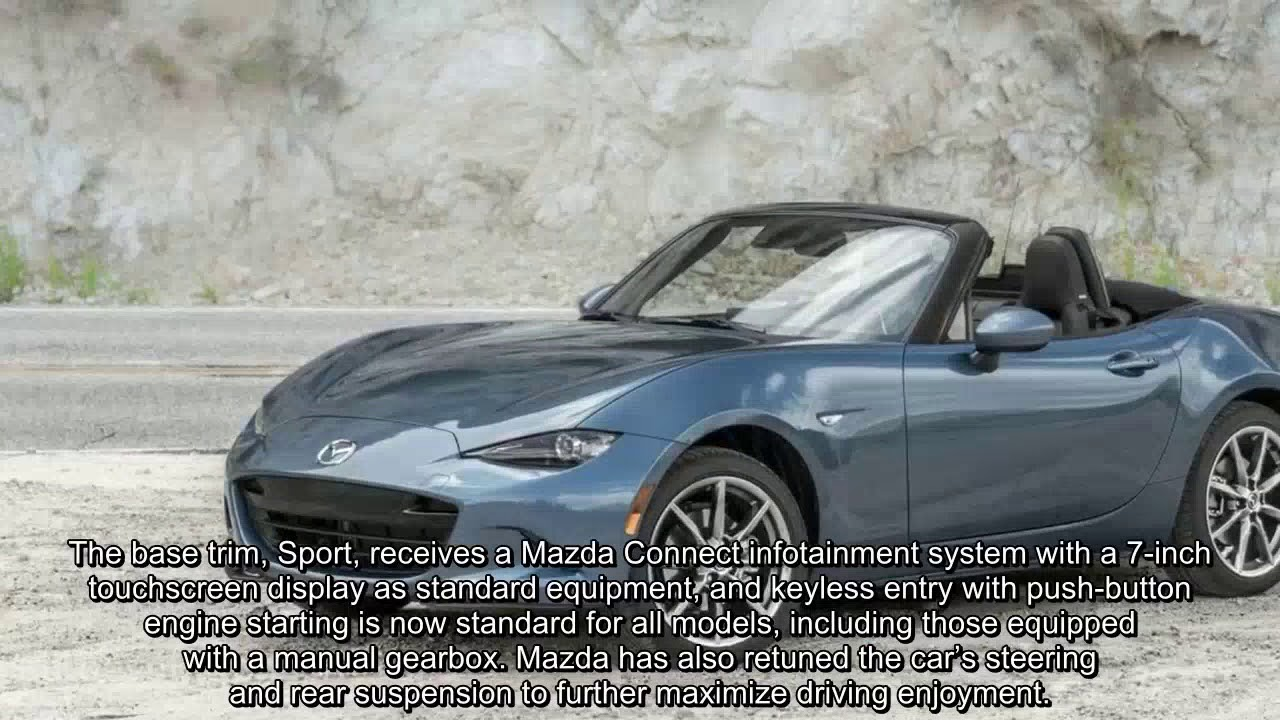 Aesthetic Changes Announced For The 2018 Mazda Mx 5 Miata