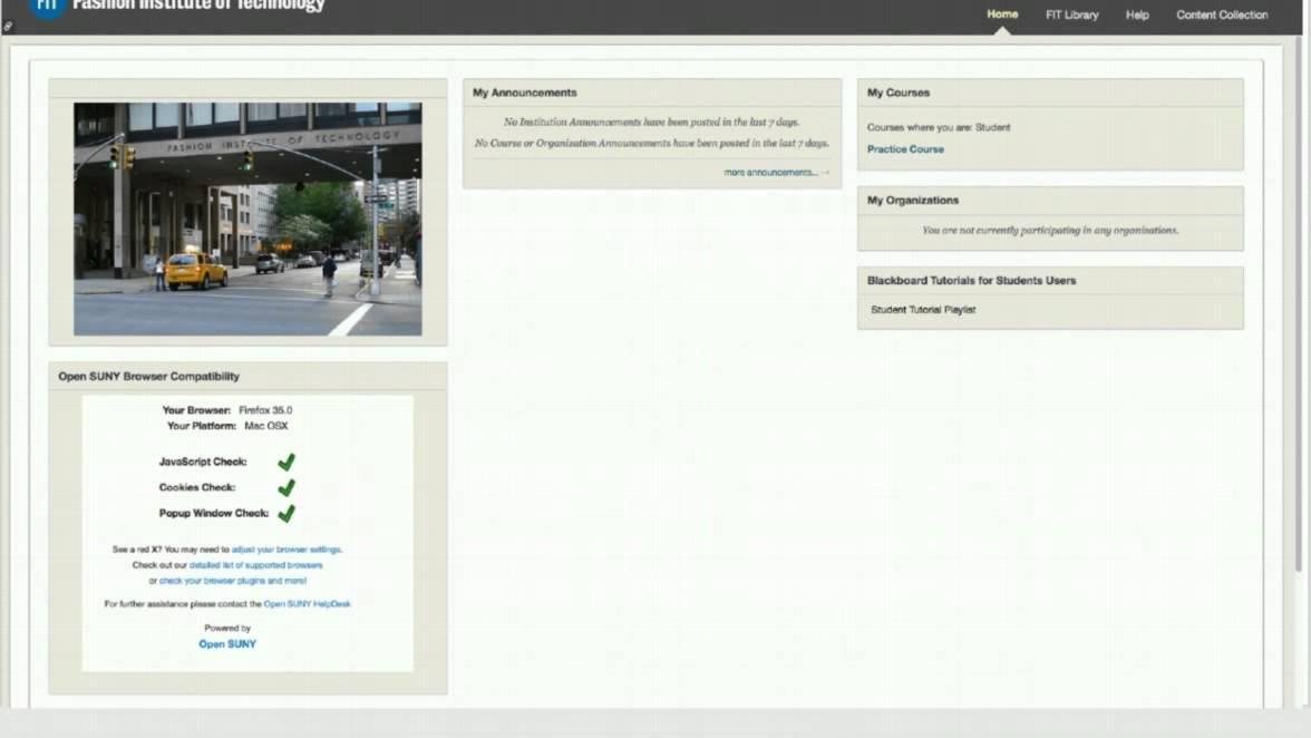 Blackboard - FIT Information Technology