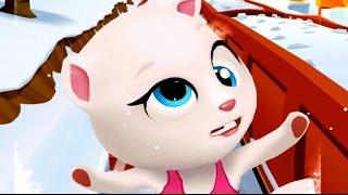 ГОВОРЯЩИЙ ТОМ и друзья ЗА ЗОЛОТОМ #27 ГОВОРЯЩАЯ АНДЖЕЛА Игровой мультик Котенок Для детей #ММ