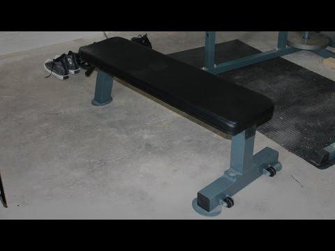 Amazon Flat Weight Bench - Heavy Duty