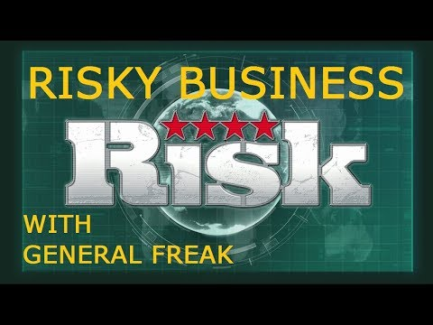 RISKY BUSINESS!!! RISK XBOX ONE ONLINE GAME SATURDAY NIGHT WAR ROOM #2 WITH GENERAL FREAK