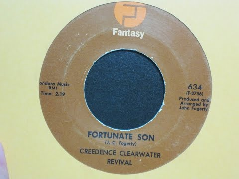 Fortunate Son - Creedence Clearwater Revival - Fantasy Records 634