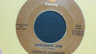 Fortunate Son Creedence Clearwater Revival Fantasy Records 634
