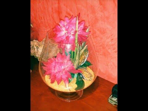 Copa de cristal decorada aprende con lola youtube - Como decorar copas de cristal ...