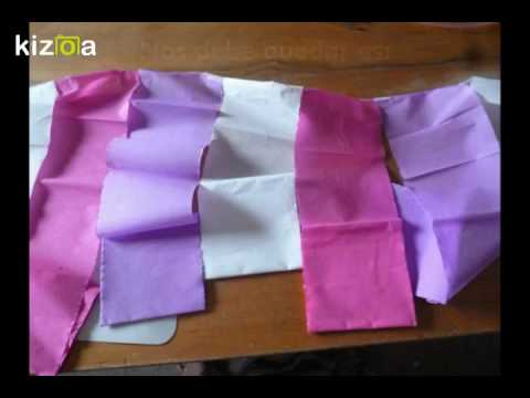 Como Decorar Con Papel Crepe