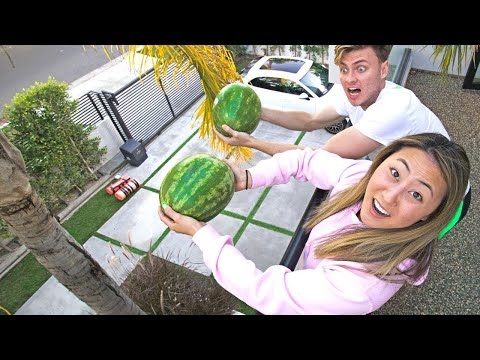 LAST TO DROP THE WATERMELON WINS $10,000!!