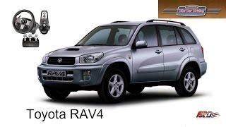 Toyota RAV4 тест-драйв, обзор, off-road, замеры динамики, городской внедорожник City Car Driving