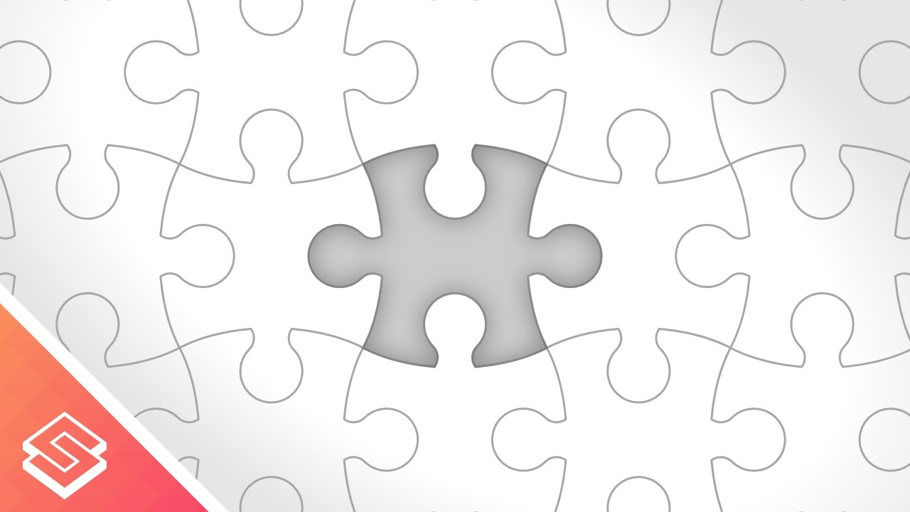 Inkscape Tutorial Vector Puzzle Pieces