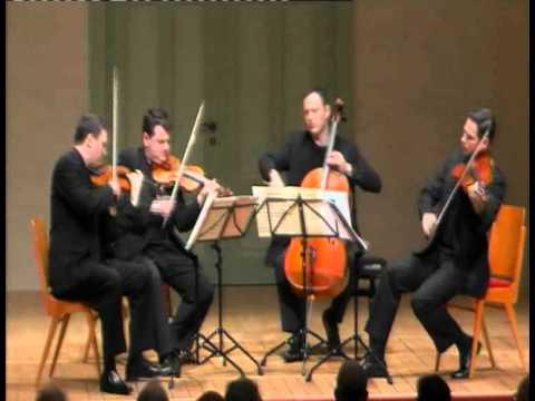 Jerusalem Quartet - J. Brahms, String Quartet Op. 51 NO. 1 - 1. Allegro