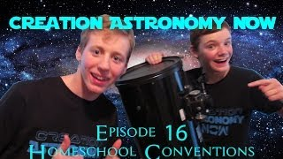 Homeschool Conventions 2014 - Creation Astronomy Now