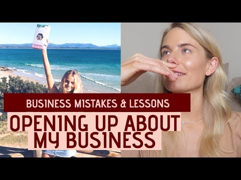 Truth About My Business: Mistakes, Lessons, Debt & Pivoting