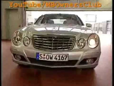 Mercedes-Benz E-Class Only one headlamp is working properly on