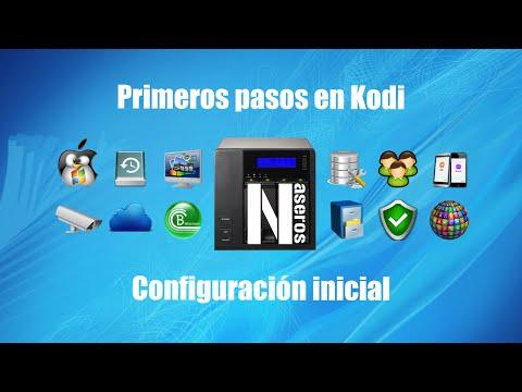 Configuración inicial y primeros pasos en Kodi