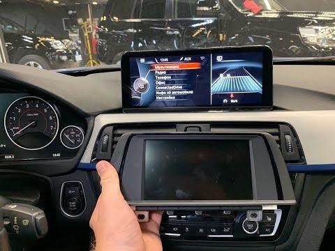 Навигация BMW 3 F30 и 4 F32  Монитор в стиле BMW NBT EVO ID6