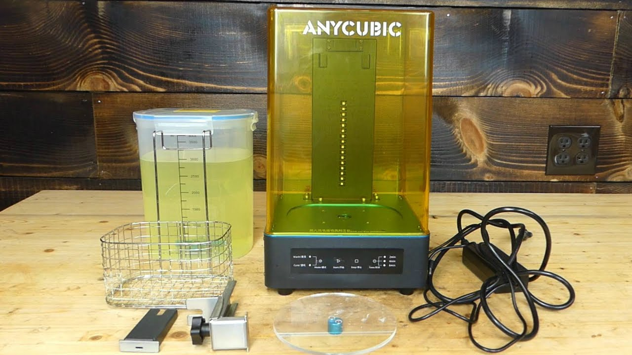 Anycubic All-in-One Wash & Cure Machine Review