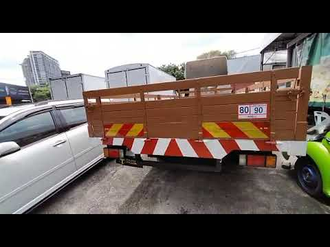 USED TRUCK HICOM Perkasa MTB 150 DX (GVW 5,000KG) 2003 CARGO AM (Wooden Based)