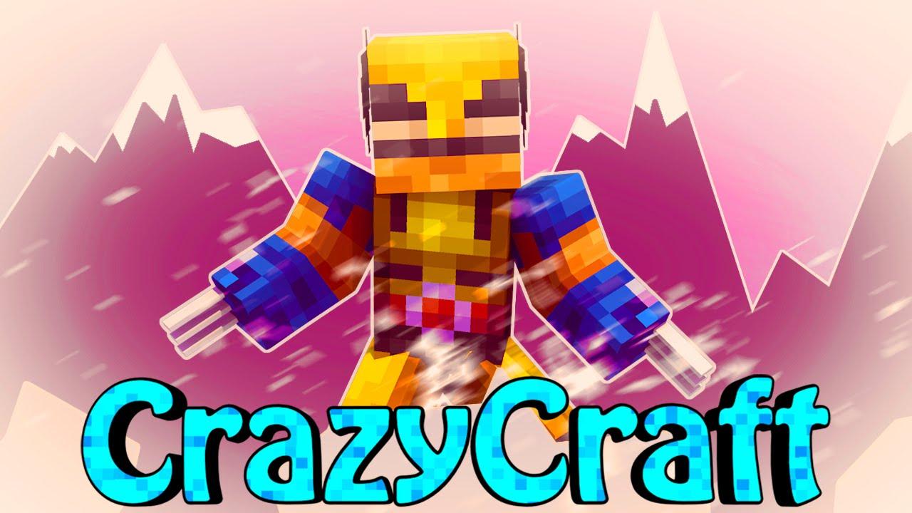 Minecraft crazy craft 2 0 orespawn modded survival ep for The atlantic craft minecraft