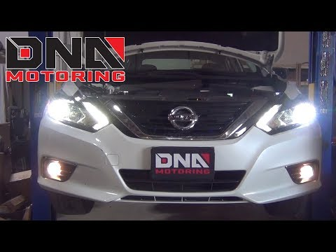 How to Install 16-18 Nissan Altima Fog Light