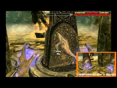 Skyrim - Skuldafn Temple puzzle #1