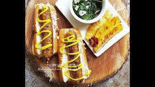 GLUTEN-FREE WORLDS BEST VEGAN GOURMET BBQ PINEAPPLE SAUSAGE wild greens | Connie's RAWsome kitchen