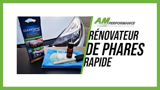 RENOVATEUR DE PHARES RAPIDE ET SANS OUTIL - VIDEO 2 [AM Performance]